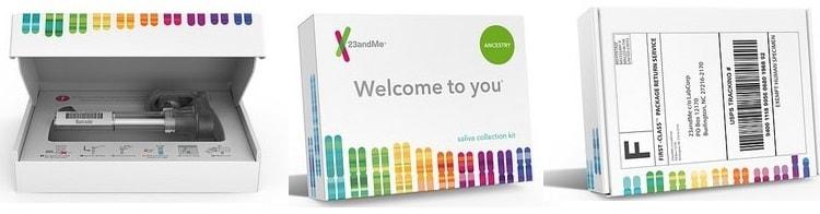 Mega charticle 23andMe