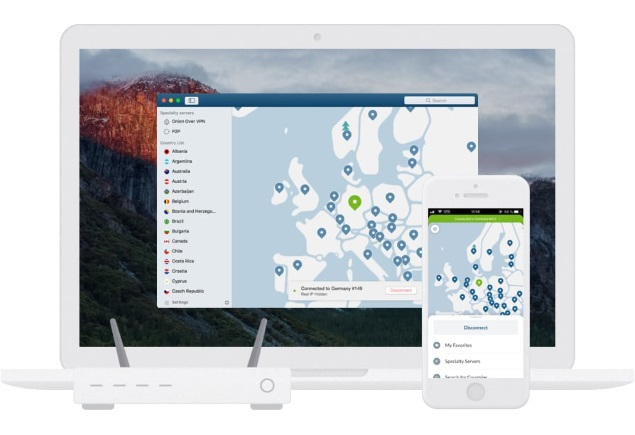 Use NordVPN on all your devices