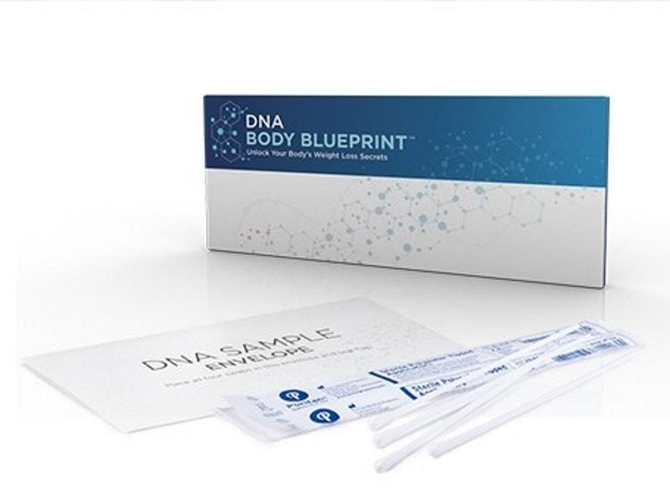 Nutrisystem DNA kit sample