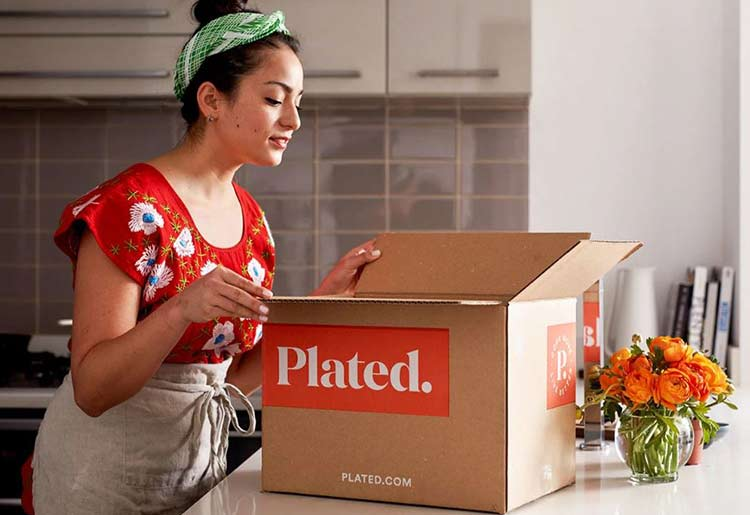 Plated delivery