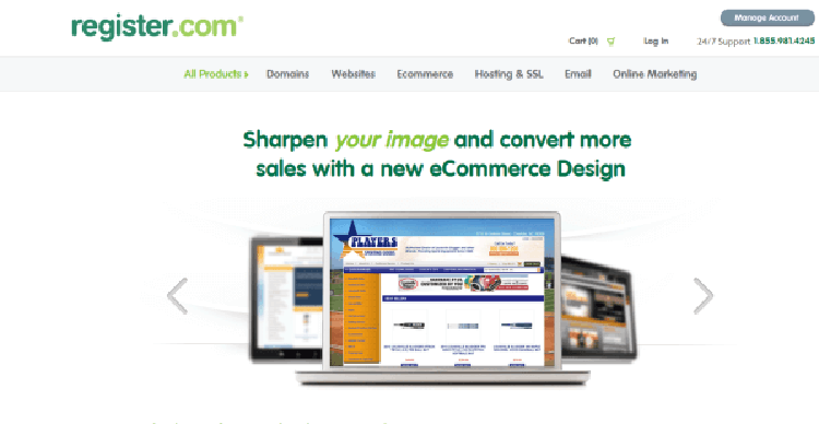 Register.com Ecommerce