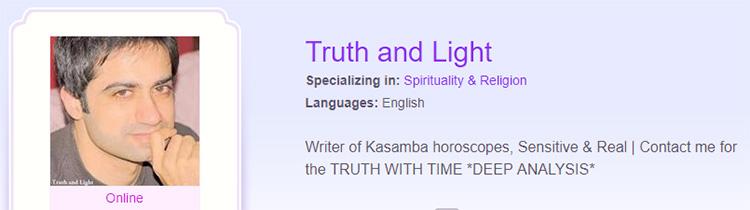 Truth and Light Kasamba