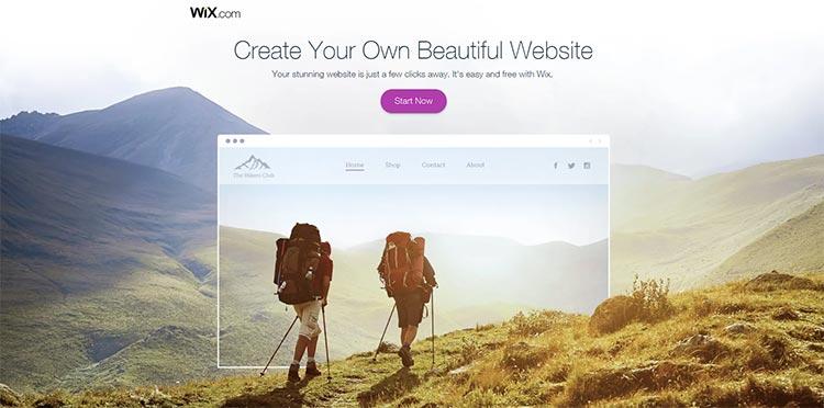 Wix website