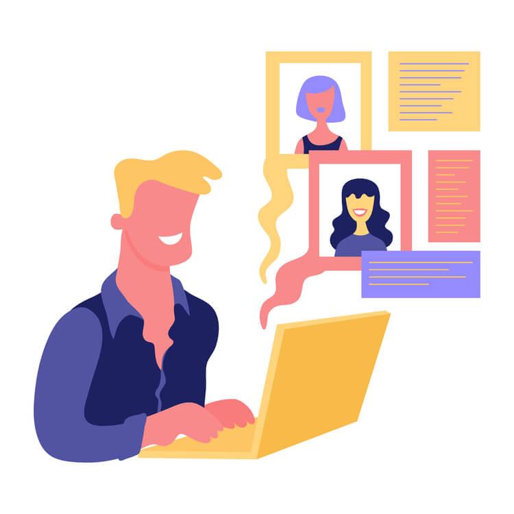 Fake profiilit dating sites