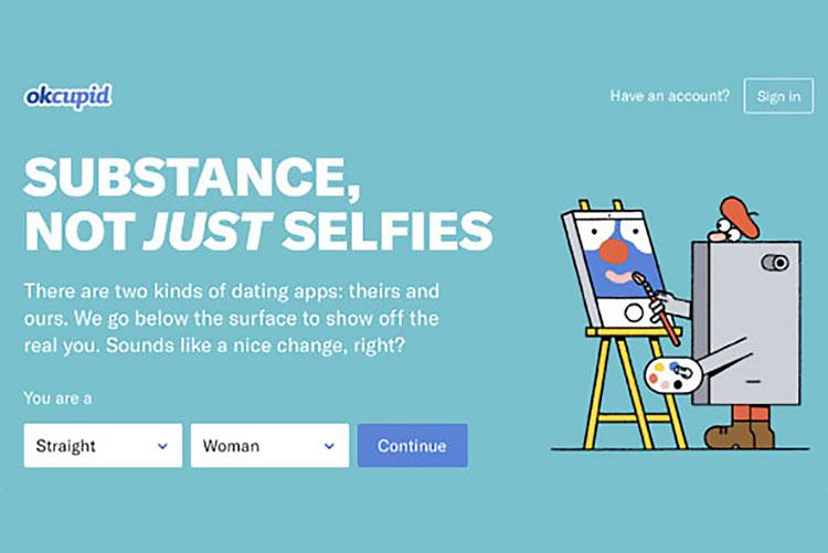 OKCupid: Substance, not just selfies